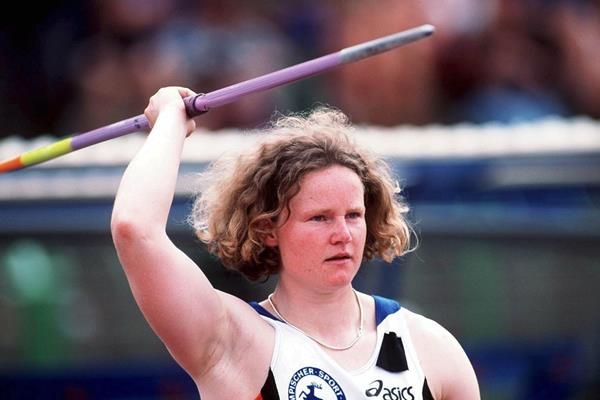 Tanja Damaske at the 1999 German chamionships (Getty Images)