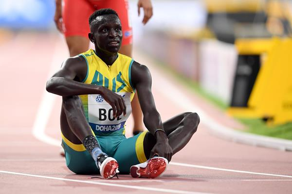 Australian middle-distance runner Peter Bol (Getty Images)