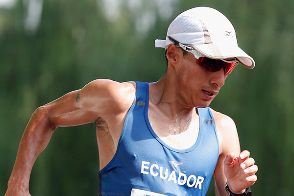 Ecuadorian race walker Andres Chocho (Getty Images)