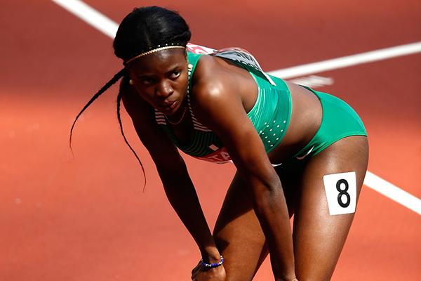 Nigerian sprint hurdler Tobi Amusan at the IAAF World Championships London 2017 (Getty Images)