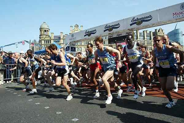 Paul Tergat wins Great Manchester Run (Getty Images - Laurence Griffiths)
