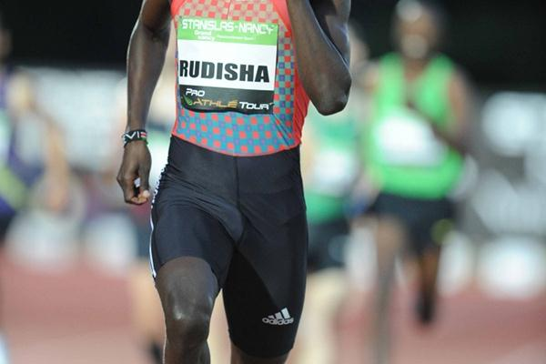 David Rudisha returns to action with a 1:43.46 run in Nancy (Jiro Mochizuki)