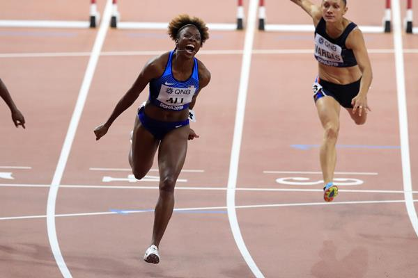 Nia Ali, 2019 world 100m hurdles champion (Getty Images)