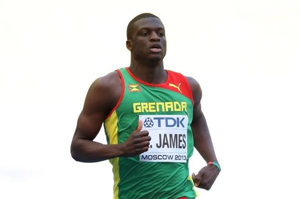 Kirani James in the mens 400m at the IAAF World Athletics Championships Moscow 2013 (Getty Images)
