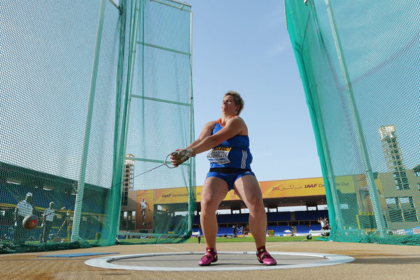 Anita Wlodarczyk, winner of the hammer at the IAAF Continental Cup Marrakech 2014 (Getty Images)
