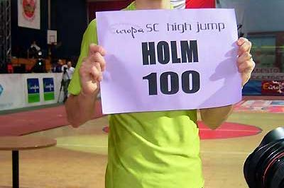 Stefan Holm marks his 100th clearance at 2.30m - Banská Bystrica (Agence Spy)