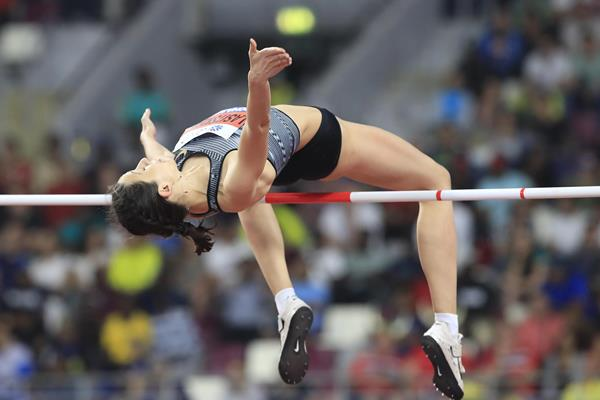 Mariya Lasitskene, winner of the high jump at the IAAF World Athletics Championships Doha 2019 (Getty Images)