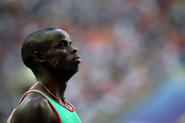 Senegalese 400m hurdler Mamadou Kasse Hanne (Getty Images)