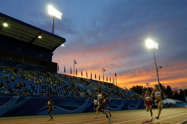 The women's 100m heats draw to a close in Moncton (Getty Images)