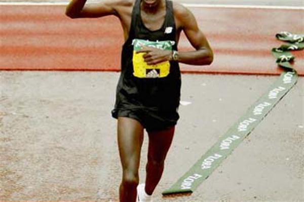 Evans Rutto wins the London Marathon (Getty Images)
