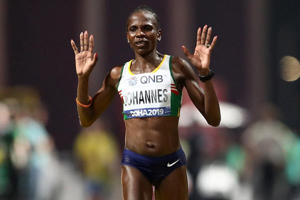 Helalia Johannes at the IAAF World Athletics Championships Doha 2019 (Getty Images)