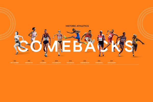 Historic athletics comebacks (Getty Images)