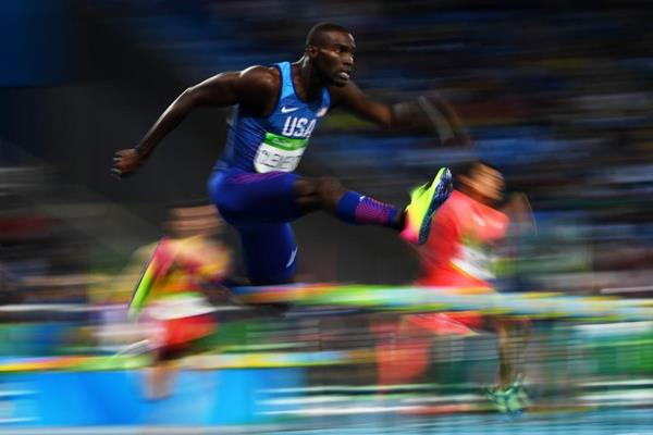 Kerron Clement at the Rio 2016 Olympic Games (Getty Images)