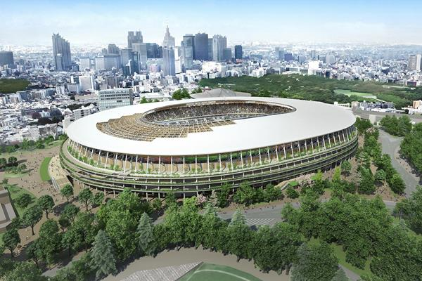 The Tokyo 2020 Olympic Stadium (Tokyo 2020)