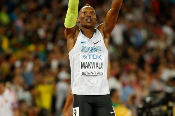 Isaac Makwala after winning his 400m semi-final at the IAAF World Championships, Beijing 2015 (Getty Images)
