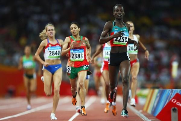 Pamela Jelimo cruises into the 800m final (Getty Images)