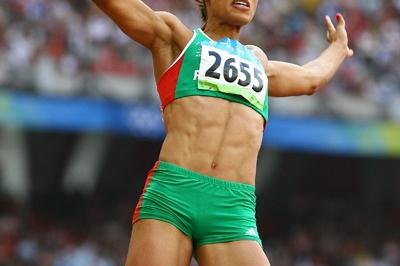 Pre-Games favourite Naide Gomes fails to qualify for the long jump final after struggling to hit the board (Getty Images)