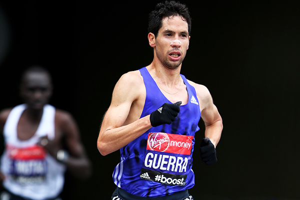Spanish distance runner Javier Guerra (Getty Images)