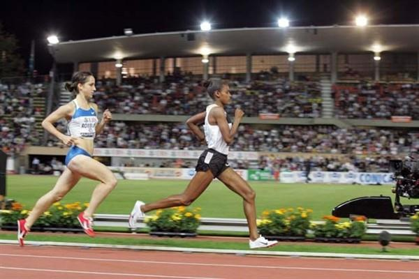 World champion Maryam Jamal goes sub-4 in Lausanne (Olivier ALLENSPACH/Switzerland)