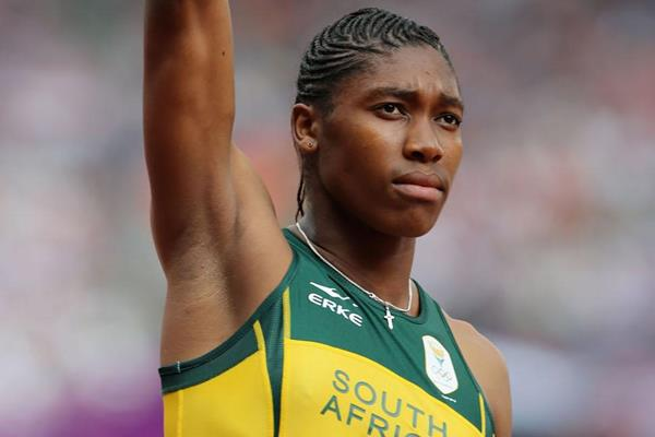 Caster Semenya in the 800m at the London 2012 Olympic Games (Getty Images)