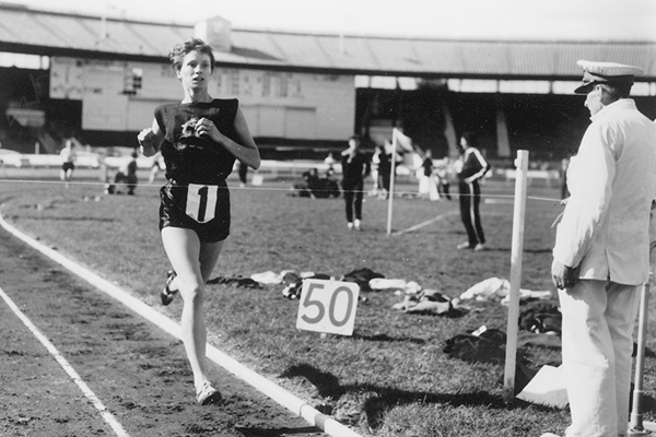 British middle-distance runner Diane Leather (Getty Images)