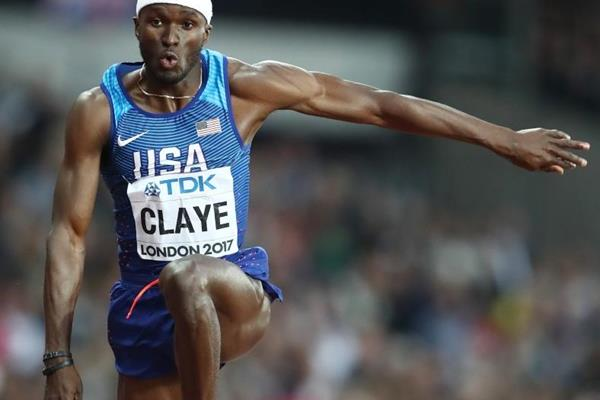 Will Claye in the triple jump final at the IAAF World Championships London 2017 (Getty Images)