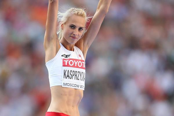 Polish high jumper Justyna Kasprzycka (Getty Images)