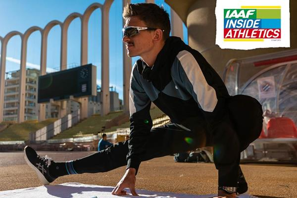 Australian high jumper Brandon Starc (Dan Vernon)