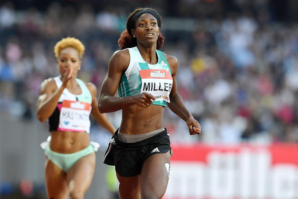 Bahamian sprinter Shaunae Miller (AFP / Getty Images)