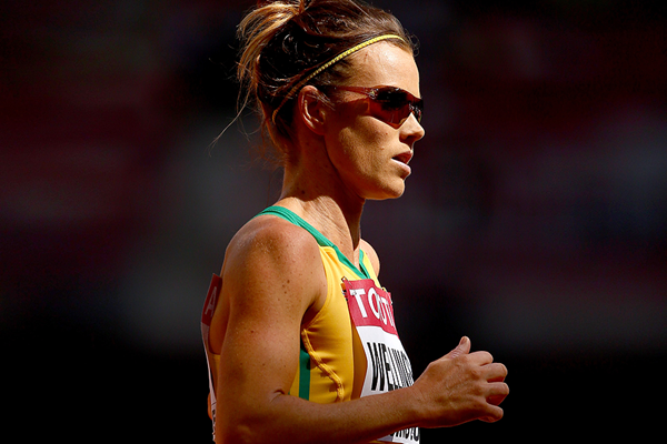 Australian distance runner Eloise Wellings (Getty Images)
