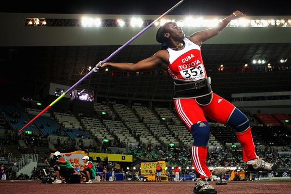 Cuban javelin thrower Sonia Bisset (Getty Images)