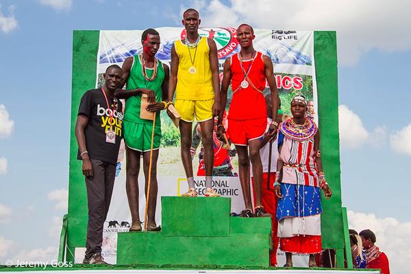 David Rudisha at the Maasai Olympics  (Jeremy Goss)