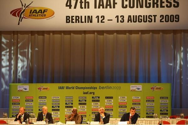 IAAF / LOC Press Conference - Berlin, 13 August (Getty Images)