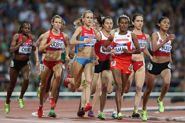 Hellen Obiri Olympics ()