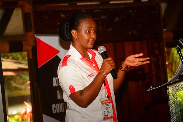 Athletics Kenya CEO Susan Kamau (Athletcs Kenya)