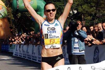 Aniko Kalovics wins the Udine Half Marathon (Federico Grattoni)