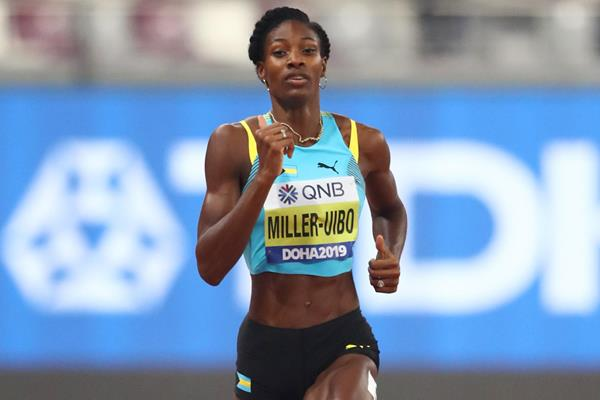 Shaunae Miller-Uibo cruises through the 400m opening round at the IAAF World Athletics Championships Doha 2019 (Getty Images)