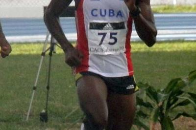 Leonel Suarez on the way to his impressive 8654 tally in Havana (Javier Clavelo Robinson)