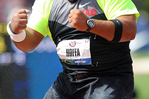 Reese Hoffa at the 2012 US Olympic Trials (Getty Images)