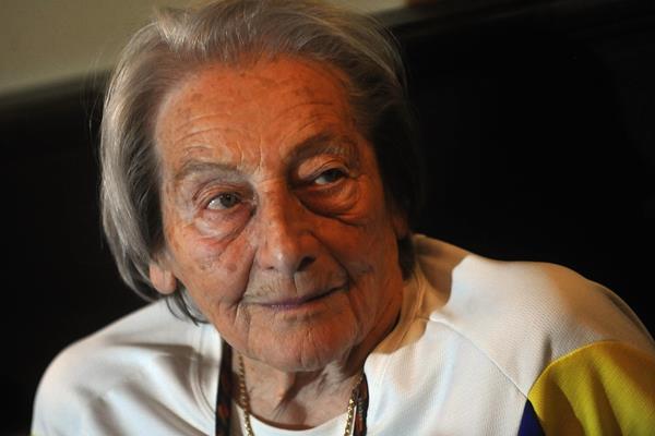 1952 Olympic javelin champion Dana Zatopkova (AFP / Getty Images)