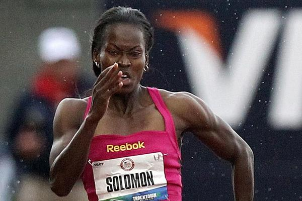 US sprinter Shalonda Solomon (Getty Images)