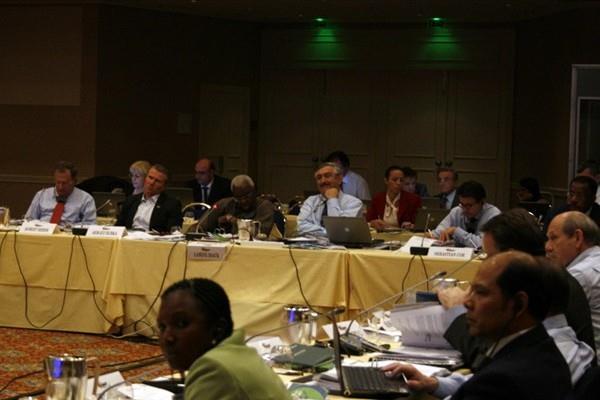IAAF Council meeting at the Fairmont Hotel in Monaco (Bob Ramsak)