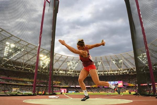 Sandra Perkovic at the IAAF World Championships London 2017 (Getty Images)