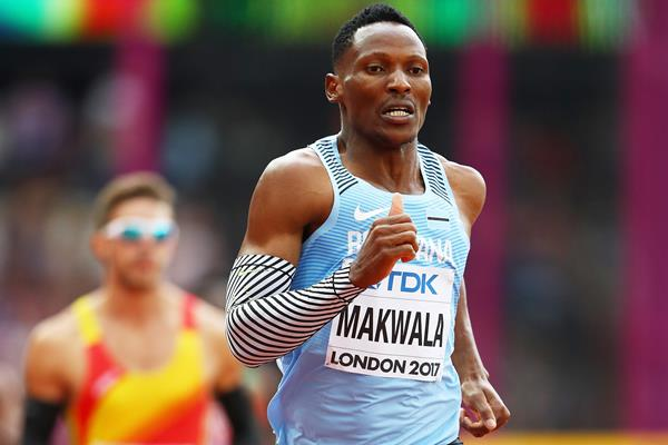 Isaac Makwala at the IAAF World Championships London 2017 (Getty Images)