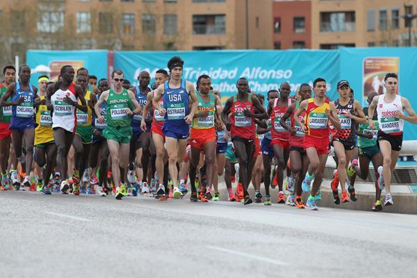 Start of the 2018 World Half Marathon Championships (Jean Pierre Durand)