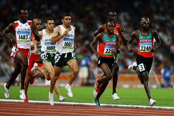 Wilfred Bungei wins the Olympic 800m title (Getty Images)