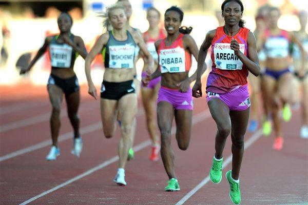 Abeba Arigawe collects another strong 1500m win, this time in Oslo (Mark Shearman)