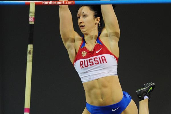 Russian pole vaulter Anastasia Savchenko (Getty Images)