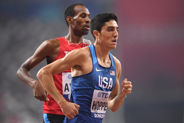 US middle-distance runner Bryce Hoppel (Getty Images)