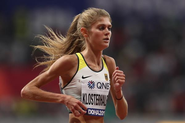 Konstanze Klosterhalfen at the IAAF World Athletics Championships Doha 2019 (Getty Images)